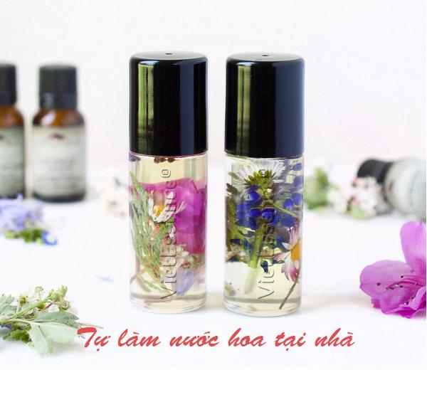 Tinh dầu làm nước hoa