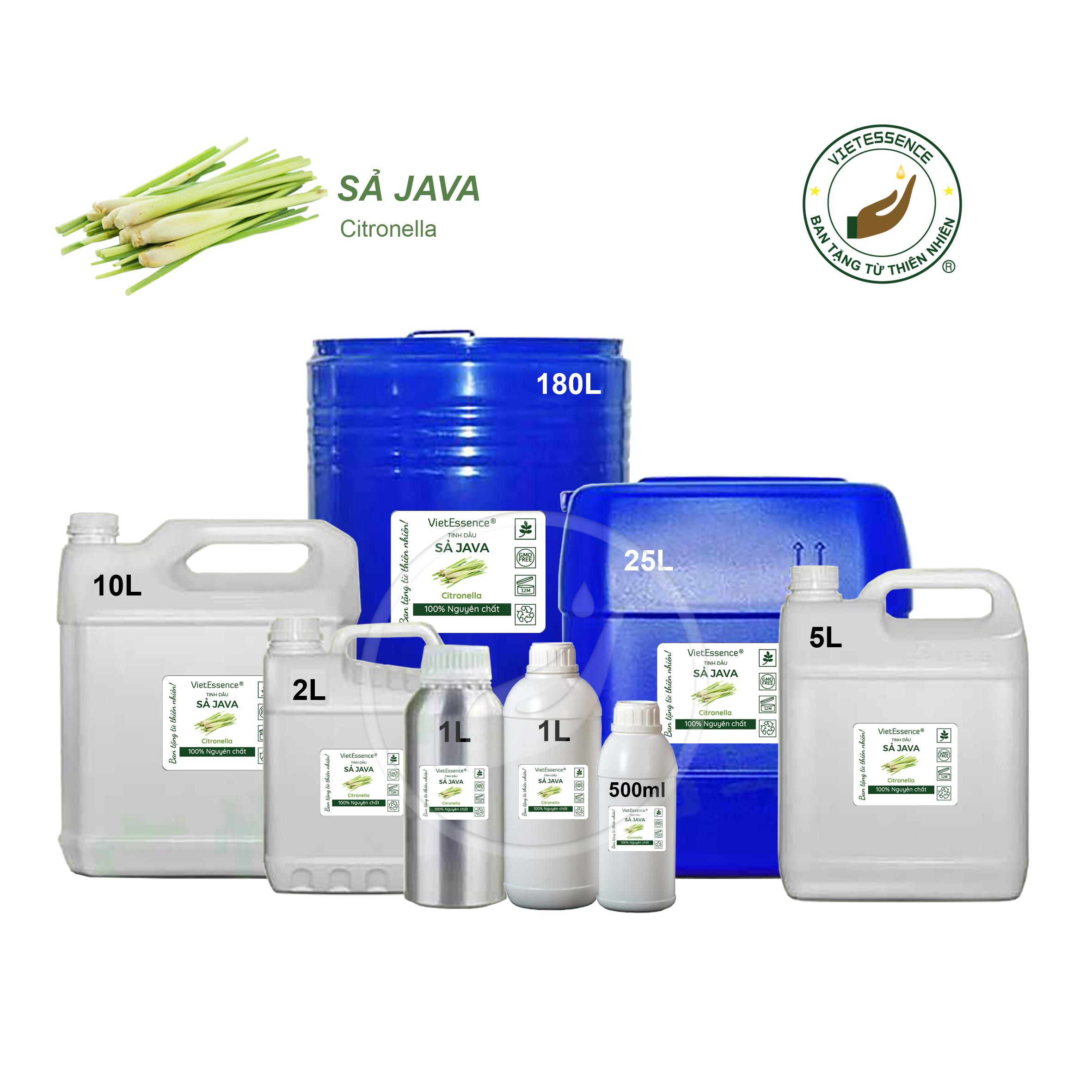 tinh dầu Sả Java số lượng lớn