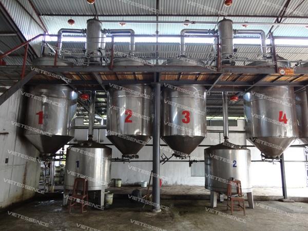 Nhà máy chiết xuất tinh dầu VietEssence®